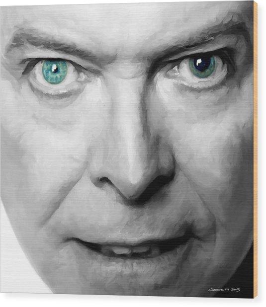 David Bowie In Clip Valentine's Day - 3 Wood Print