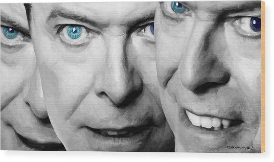 David Bowie In Clip Valentine's Day - 4 Wood Print