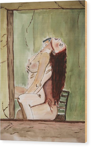 David Passion Wood Print