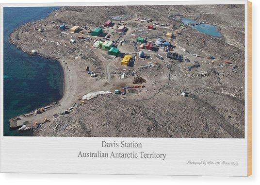 Davis Station 2012 Wood Print by David Barringhaus