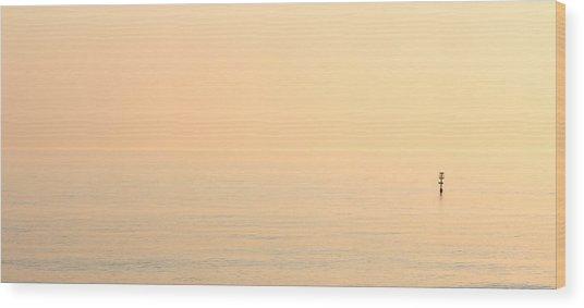 Dawn Horizon Wood Print