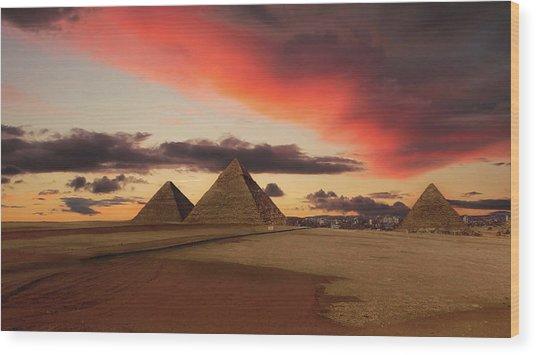 Dawn Of The Pharaohs Wood Print