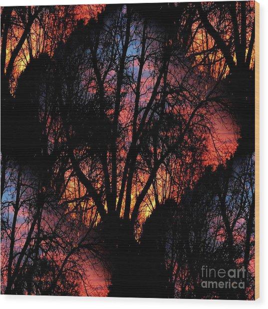 Sunrise - Dawn's Early Light Wood Print