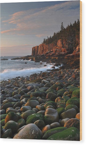 Dawn's Early Light Wood Print by Stephen  Vecchiotti