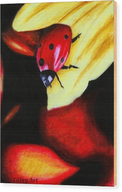 Day 64 Aceo Wood Print