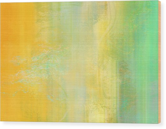 Day Bliss - Abstract Art Wood Print