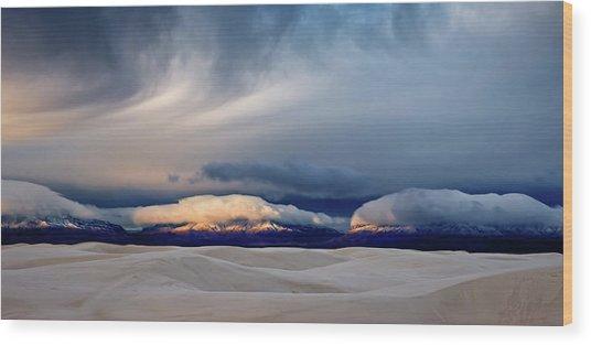 Day Break At White Sand Wood Print by John Fan