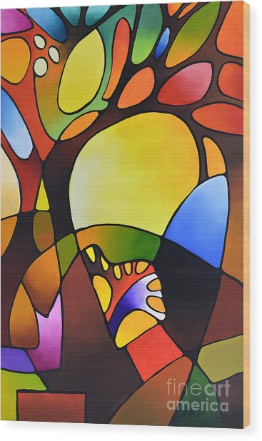 Daydream Canvas Three Wood Print