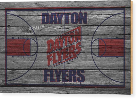 Dayton Flyers Wood Print