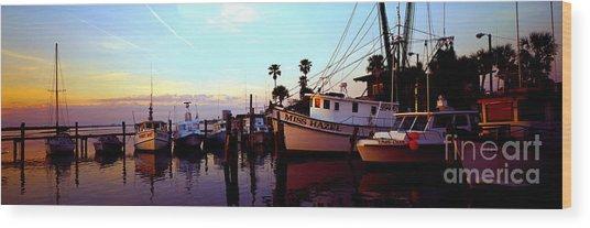 Daytona Beach Fl Last Chance Miss Hazel And Sonny Boy Wood Print