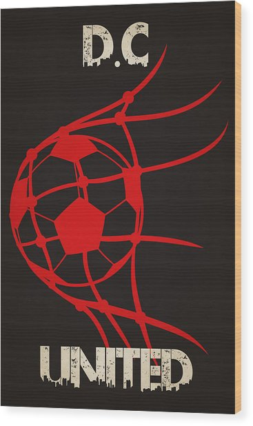 Dc United Goal Wood Print