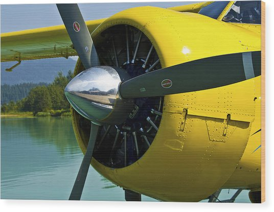 de havilland Beaver Wood Print