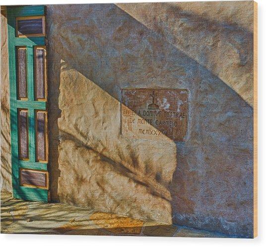 De Monte Carmelo Wood Print