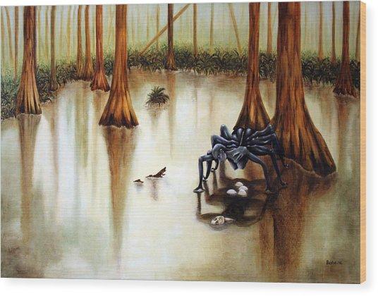 Dead Calm Wood Print