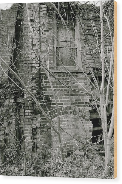 Decay Wood Print by Azthet Photography