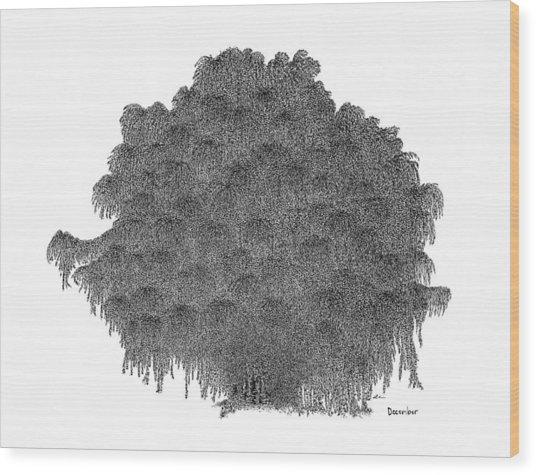 December '12 Wood Print