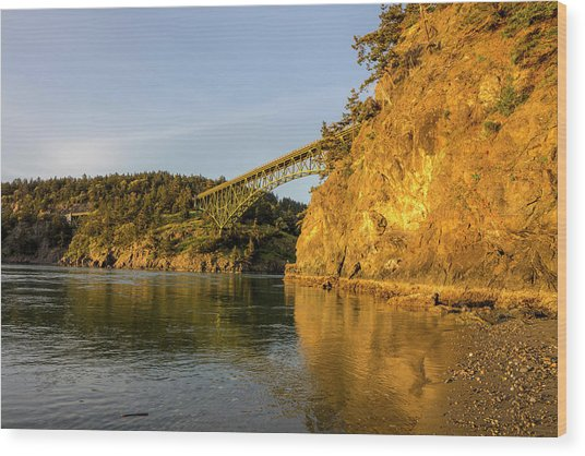 Deception Pass Bridge At Deception Pass Photograph By