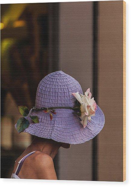 Decorated Hat Wood Print