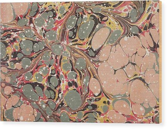 Decorative End Paper  Wood Print