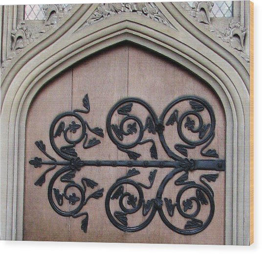 Decorative Hinge Wood Print