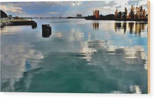 Deep Reflections 1 - Canada Wood Print