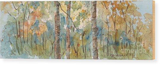 Deep Woods Waskesiu Horizontal Wood Print