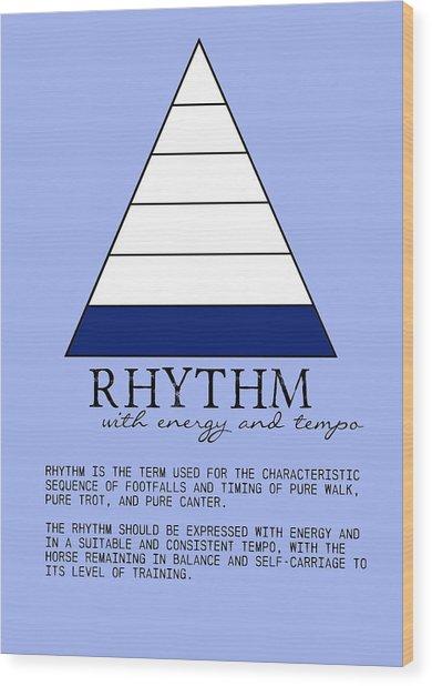 Rhythm Defined Wood Print by JAMART Photography