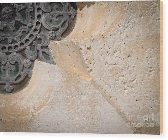 Degoyler Limestone Wood Print