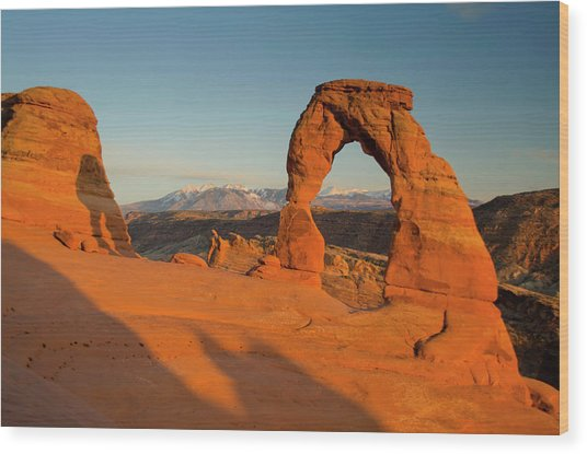 Delicate Arch, Arches National Park Wood Print by Roddy Scheer