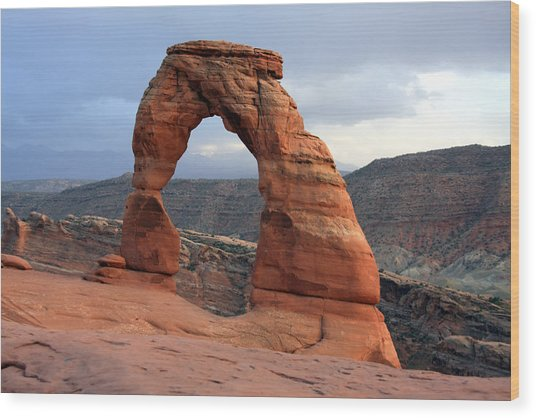 Delicate Arch - Arches National Park - Utah Wood Print