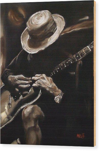 Delta Blues Wood Print