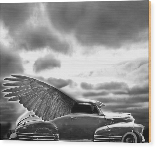 Demon Chevrolet Wood Print by Larry Butterworth