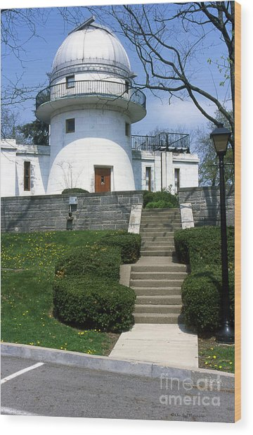 1u22 Swasey Observatory At Denison University Photo Wood Print