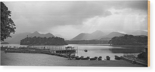 Derwent Water In The Lake District Of England Wood Print by David Murphy