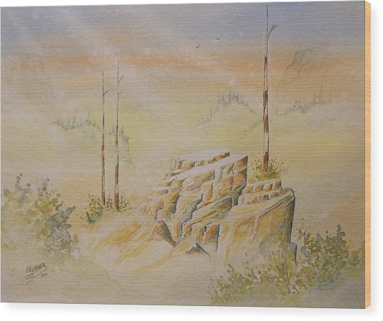 Deschutes Canyon Wood Print