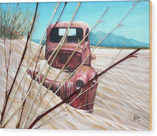 Desert Rose Wood Print by Gregory Peters
