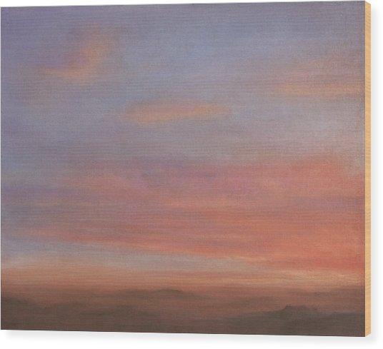 Desert Sky A Wood Print