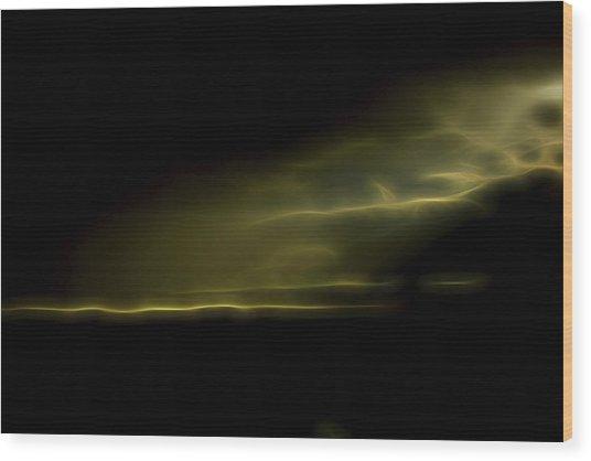 Desert Spotlight Wood Print