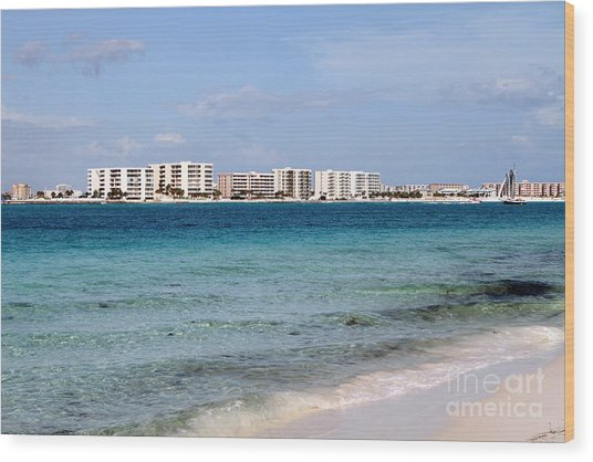 Destin Beaches Wood Print