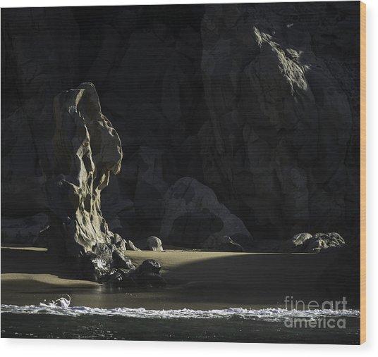 Destiny's Throne Wood Print by Richard Mason