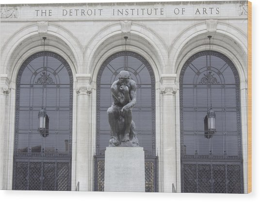 Detroit Institute Of Art Wood Print