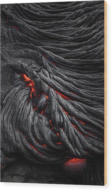 Devil's Eye Wood Print by Jerrywangqian