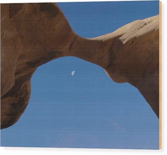 Devil's Garden Metate Arch 014  Wood Print