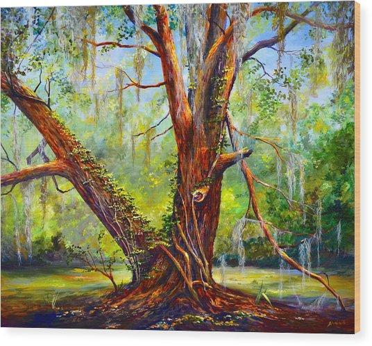 Devine Oak Wood Print