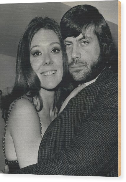 Diana Rigg And Oliver Reed To Star In Film �the Wood Print by Retro Images Archive