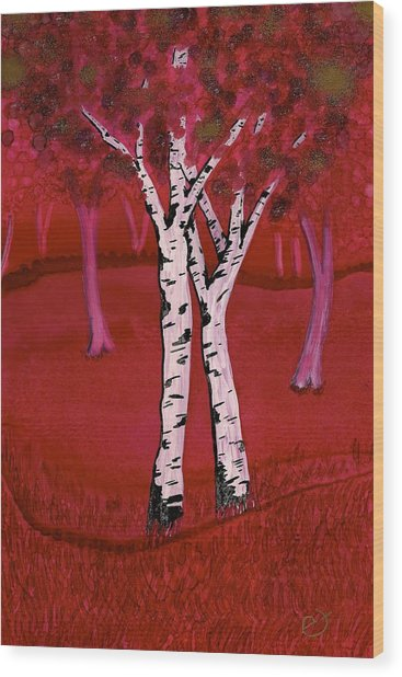 Dianne's Retreat Wood Print