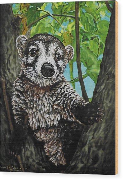 Diego Wood Print