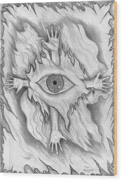 Dimension 4 Wood Print