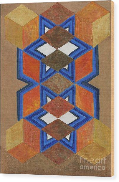 Dimensional Portal Wood Print