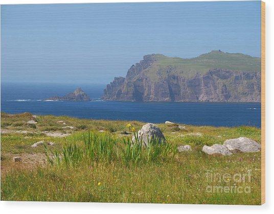 Dingle Coast Wood Print